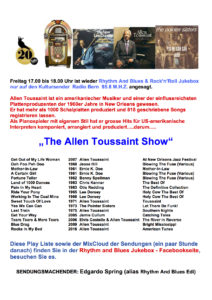 """The Allen Toussaint Show"""