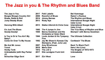 The Jazz in you & The Rhythm and Blues Band