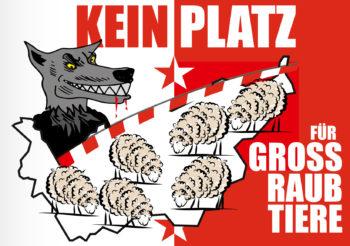 Zufall oder gewollt? Der «böse» Wolf befindet sich dort, wo der Kanton Bern und die «Üsserschwiiz» beginnt.