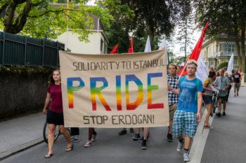 28. Demo LGBTI türkei
