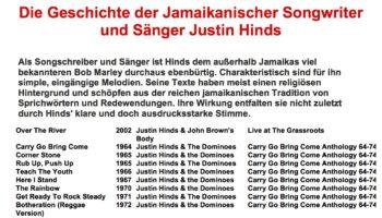 Die Geschichte der Jamaikanischer Songwriter und Sänger Justin Hinds