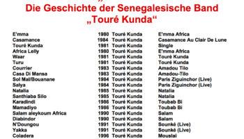 """Die Geschichte der Senegalesische Band """"Touré Kunda"""""""