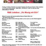 """R&B Jukebox- """"Viu Musig mit Gliir"""""""