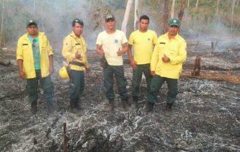 Indigene Selbsthilfe bei der Bekämpfung von Waldbränden in Brasilien