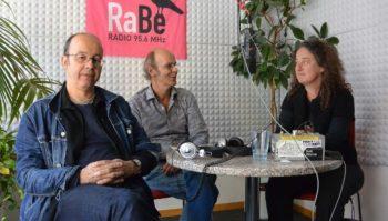 RetschülerInnen der ersten Stunde: Johannes Wartenweiler, Samuel Loosli & Christine Blau