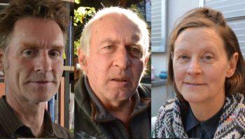 ReitschülerInnen der ersten Stunde: Tilman Rösler, Andreas Berger & Ruth Schwegler