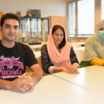 Naveed Afsar, Saiqa Jehan und Rabia Goher an der HAFL in Zollikofen