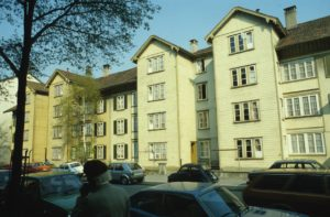 ©Stadtplanungsamt , Mittelstrasse vor dem Umbau