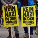 Demo Kein rechtsextremer Burschenschafter als Bundespräsident