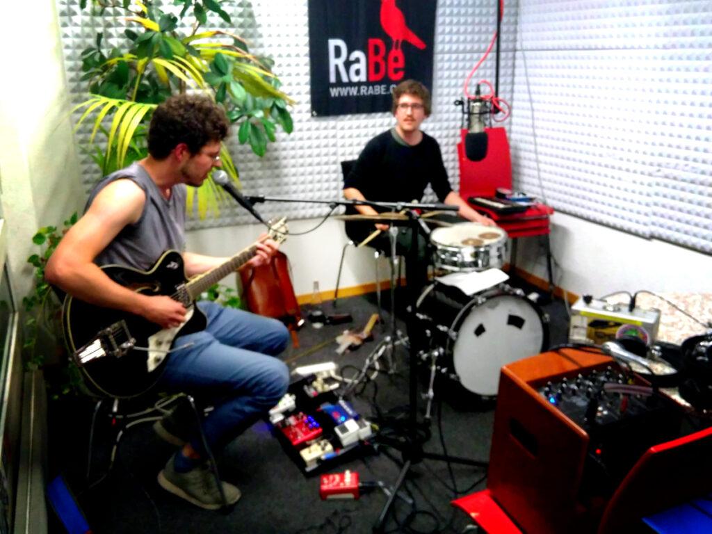 Ja Ja Dickicht im Radio Bern RaBe