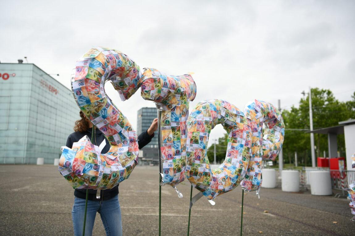 Aktion gegen CO2 BEA-Expo
