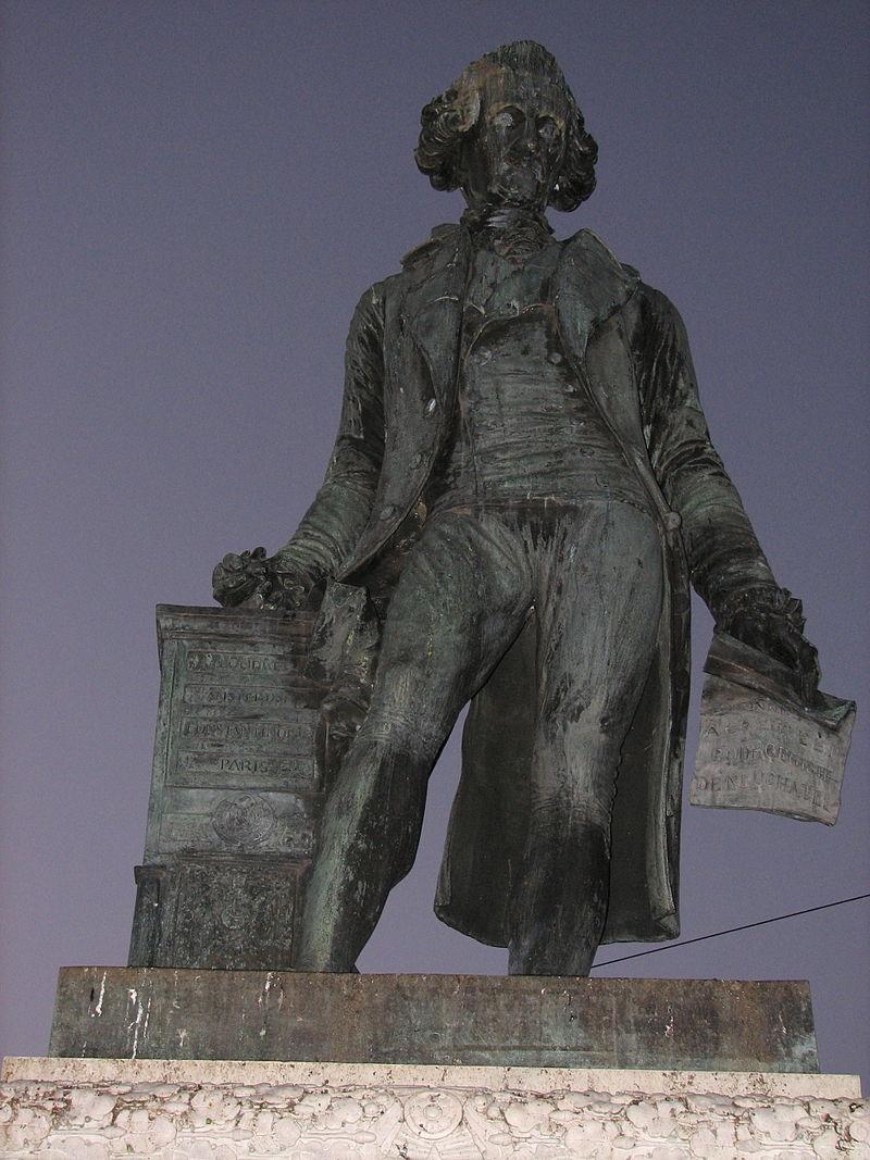 David de Pury in Neuchâtel