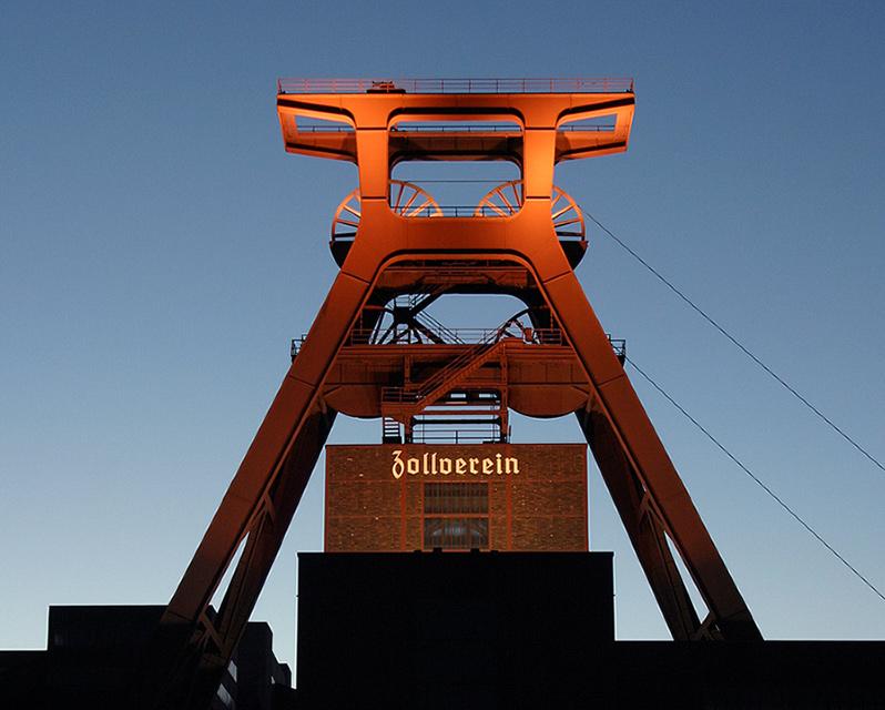 Schacht 12 auf Zeche Zollverein