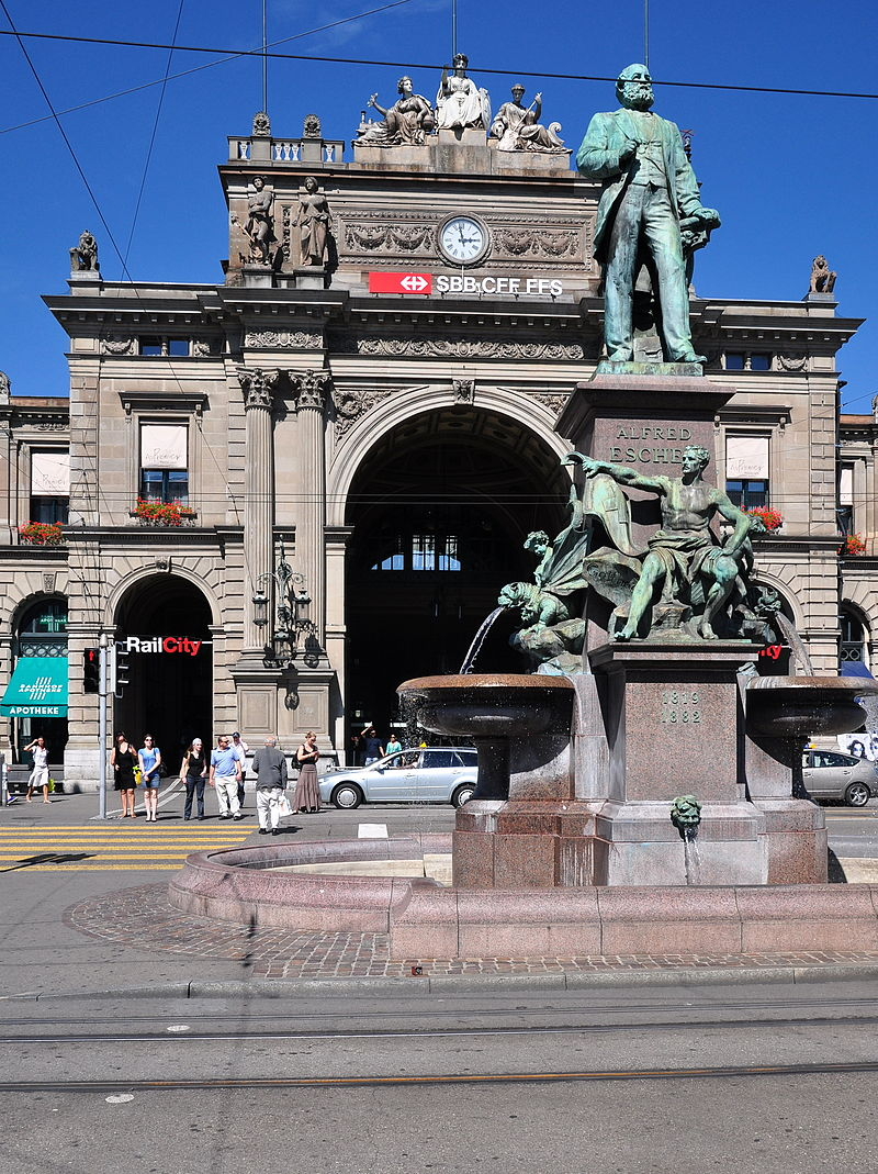 Statue Alfred Escher Zürich