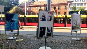 Fotoausstellung Viviane Stucki Holligenquartier Loryplatz