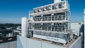Mit Filteranlagen will das ETH-Projekt Climeworks CO2 aus der Luft filtern und so die drohende Klimakatastrophe abwenden