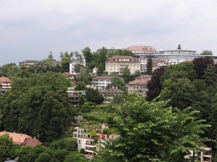 Der Unort von GFL Kandidatin Ether Wermuth im Rabbental zwischen Altenbergquartier und Salemspital