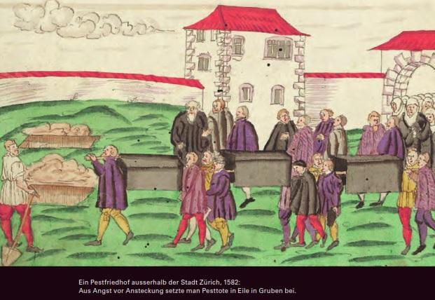 Die Pest in Bern vom 14. bis 16. Jahrhundert gestaltete sich deutlich dramatischer im Vergleich mit der aktuellen Coronakrise.