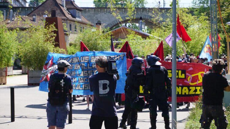 Basel Nazifrei Prozesse mit rund 40 Angeklagten die teilweise bereits verurteilt wurden Demonstration im Jahr 2018