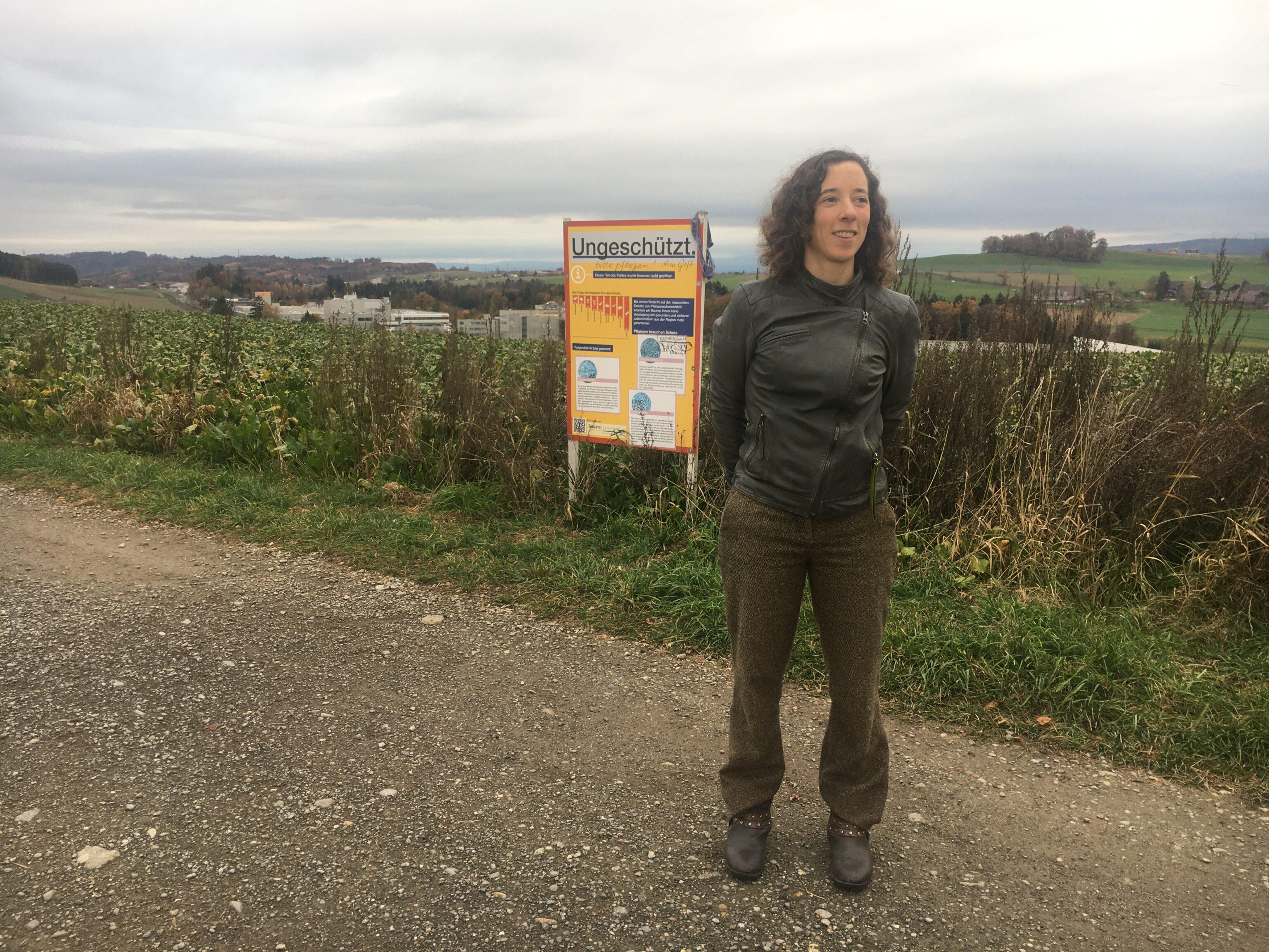 Sarah Rubin vom Grünen Bündnis GB möchte als Stadträtin ins Berner Stadtparlament einziehen