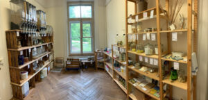 «Bern unverpackt» in der Villa Stucki ist basisdemokratisch organisiert und unterstützt lokale Lieferant*innen