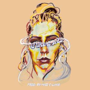 Miss C-Line mit Album Surreal
