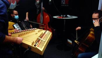 Viertaktmotor im Radio Bern (RaBe)