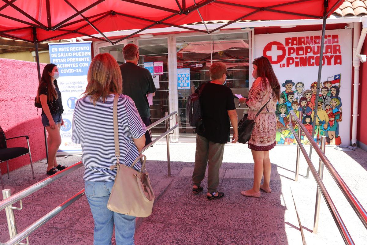 Kommunale Apotheken in Chile helfen in der Krise