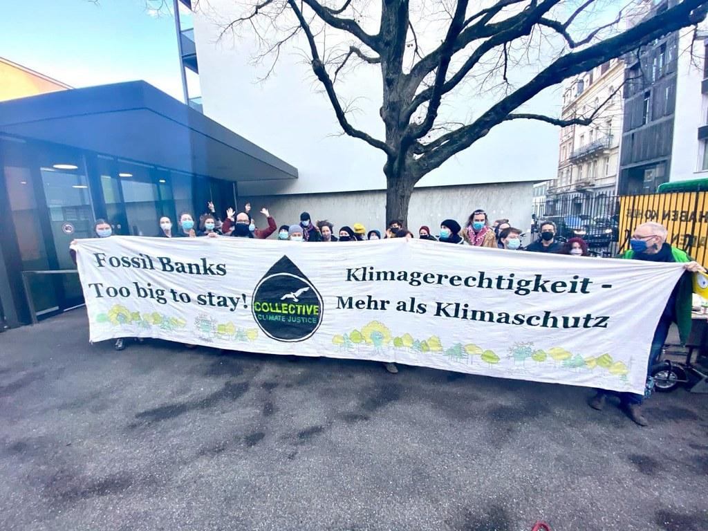 Klimaaktivist*Innen von Collective Climate Justice werden in Basler Prozess freigesprochen