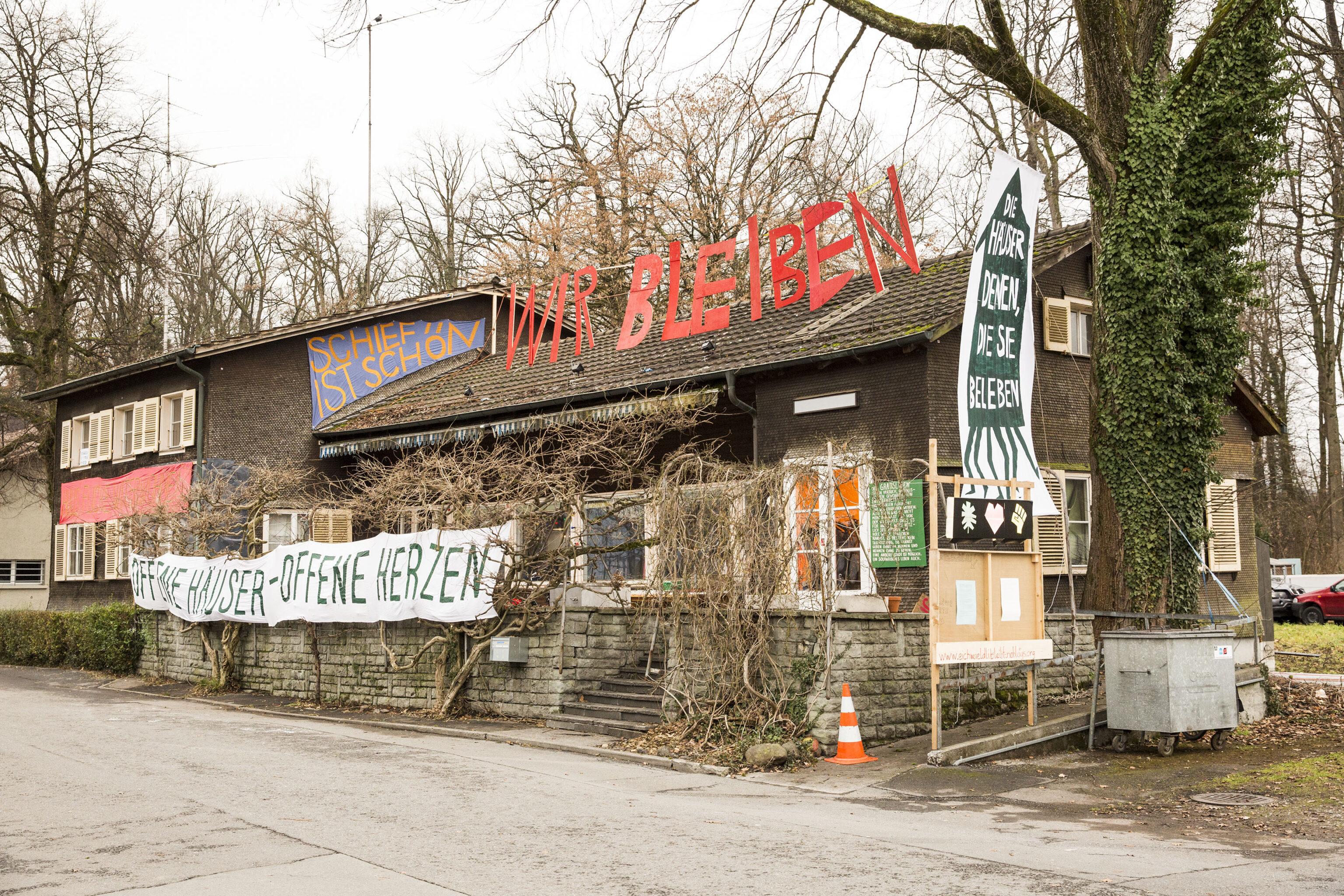 Dem Wohn- und Kulturzentrum Eichwäldli in Luzern droht das Aus