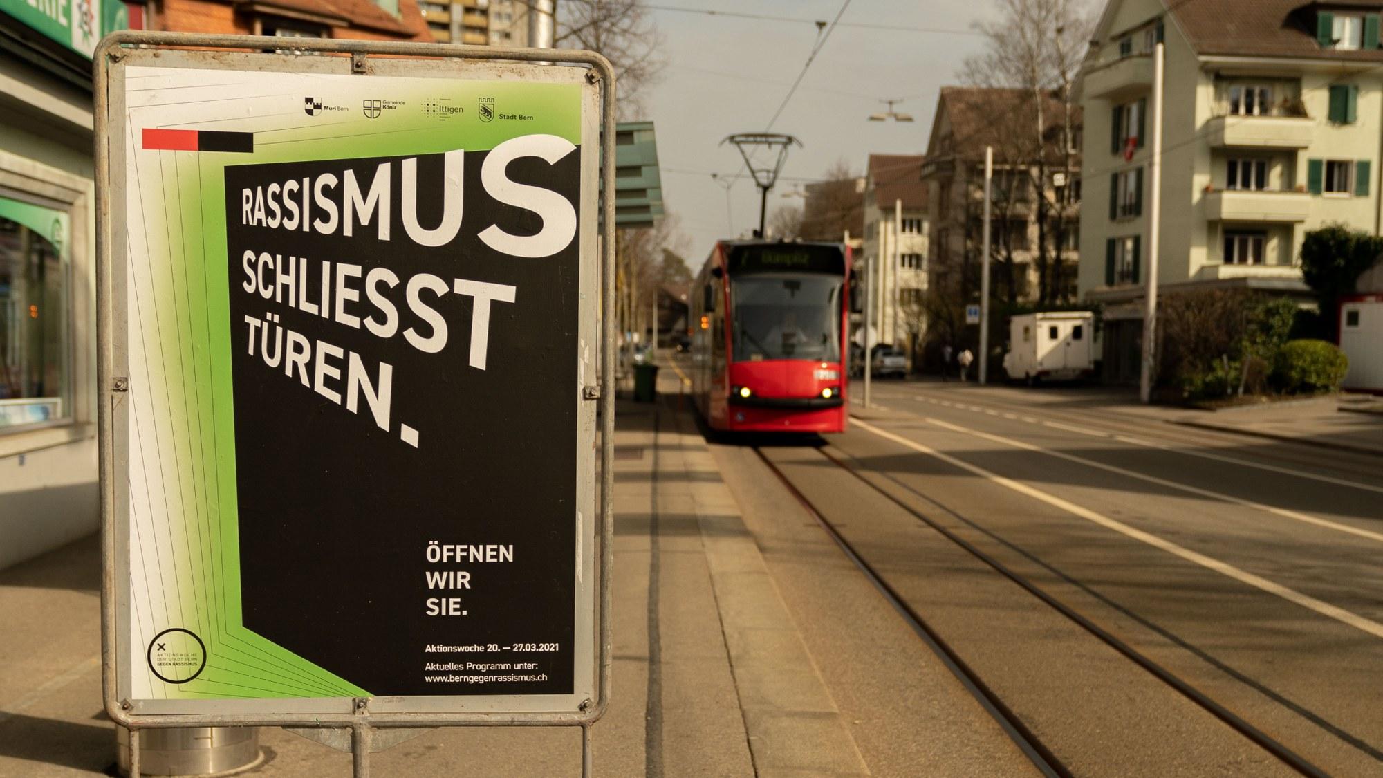 Die Aktionswoche gegen Rassismus findet derzeit in verschieden Schweizer Städten statt