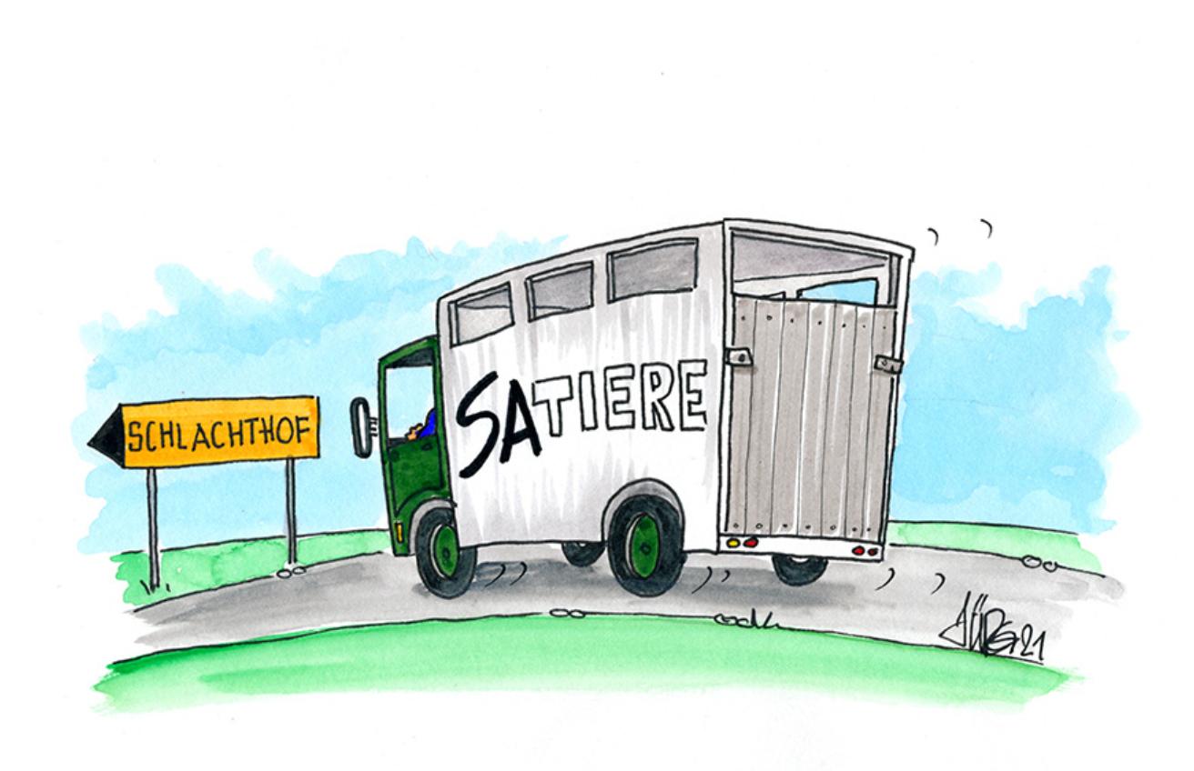 die Plattform wer braucht schon satire stellt die Frage nach der Daseinsberechtigung von satirischen Zeichnungen