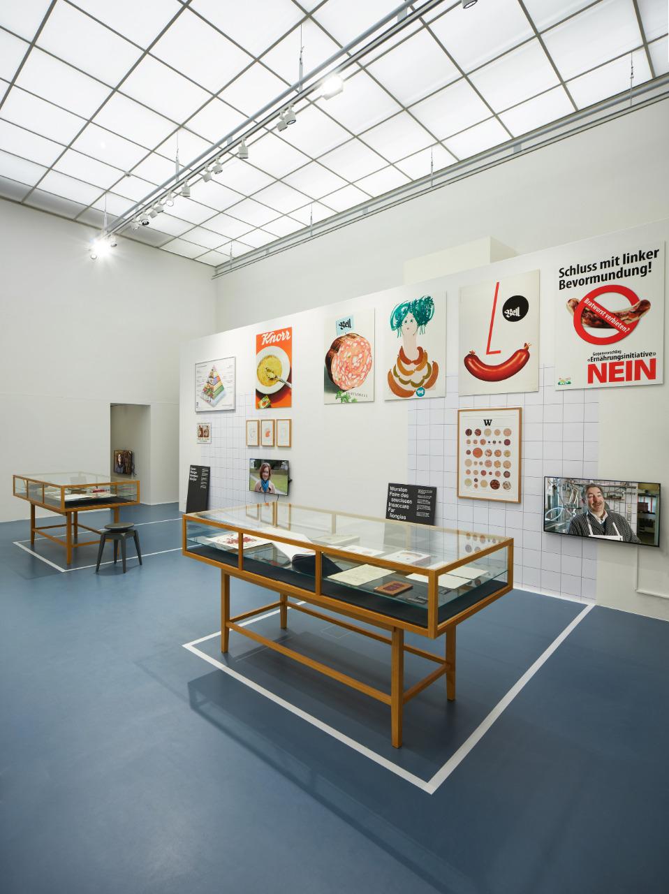 Die Ausstellung Fleisch in der Schweizerischen Nationalbibliothek