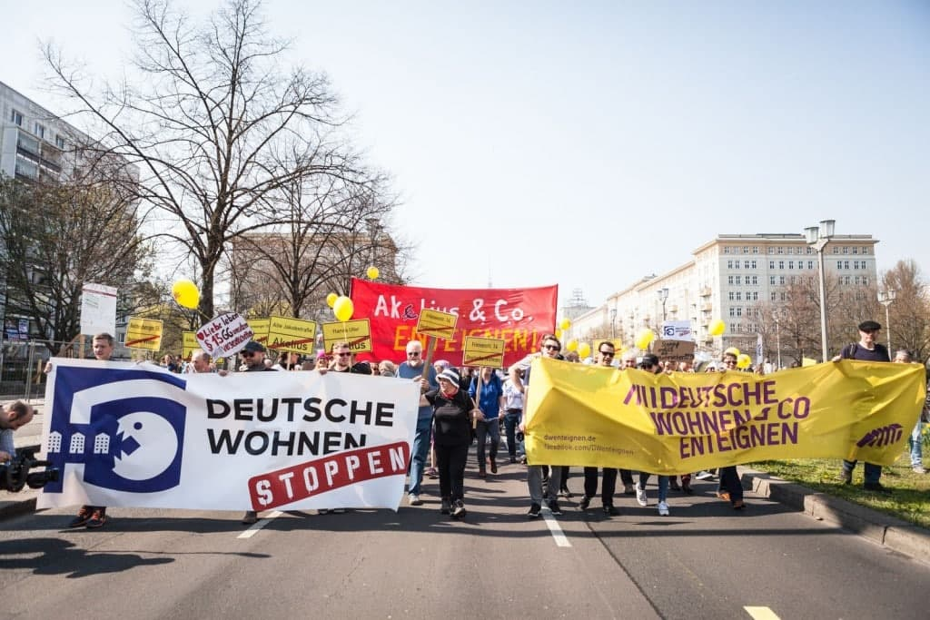 Die Kampagen Deutsche Wohnen und Co enteignen will in Berlin bezahlbaren Wohnraum