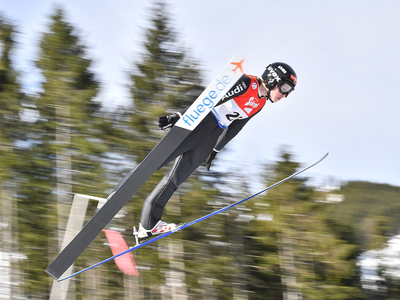 Skispringerin Maria Gerboth