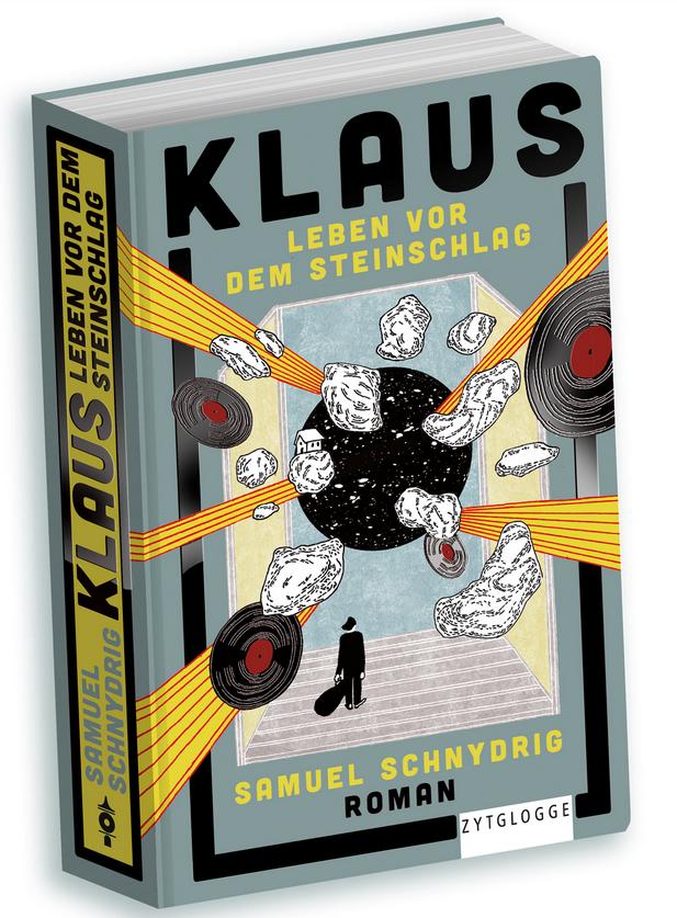 Samuel Schnydrig veröffentlicht mit Klaus - Leben vor dem Steinschlag seinen ersten Roman.
