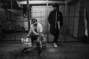 DJ Barrio Warrior und DJ PA im Radio Rabe